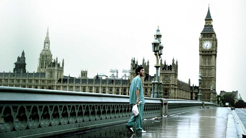 Rarely is London so quiet - a still from Danny Boyle's 28 Days Later (Fox Searchlight)