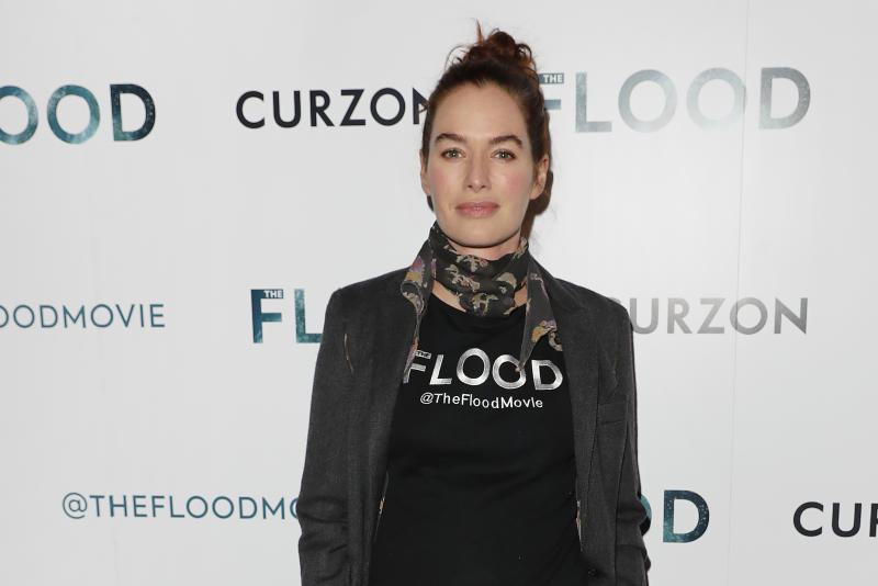 "LONDON, ENGLAND - JUNE 14: Lena Headey attends a special screening of ""The Flood"" at The Curzon Mayfair on June 14, 2019 in London, England. (Photo by David M. Benett/Dave Benett/WireImage)"