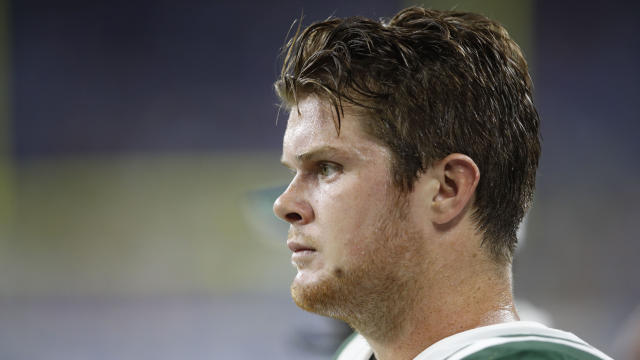 Jets' Sam Darnold out indefinitely with mono