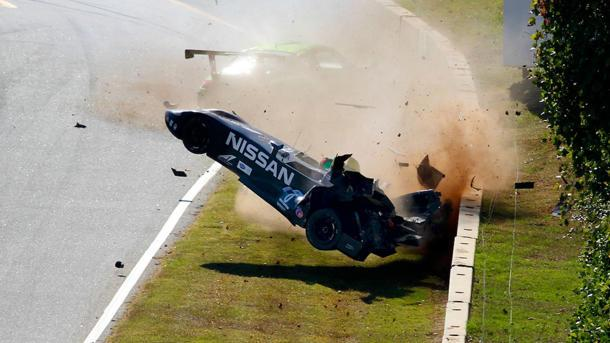 Latest Nissan DeltaWing crash spurs NASCAR star to label it not a