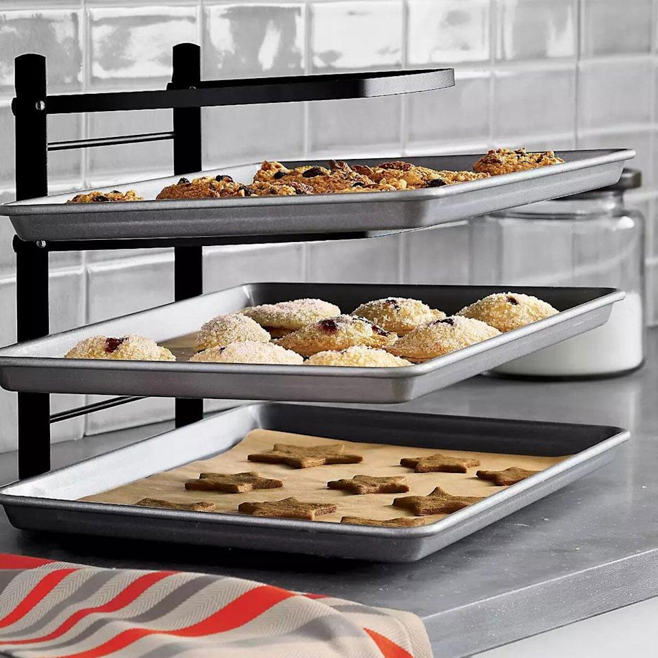 crate and barrel baker's tiered cooling rack