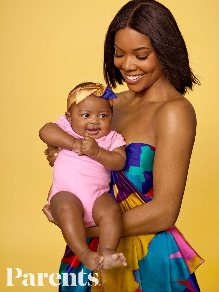 Gabrielle Union and daughter Kaavia