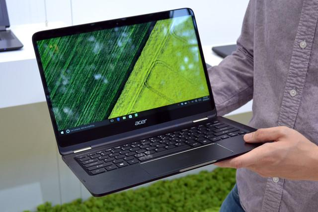 acer spin ships today hands on
