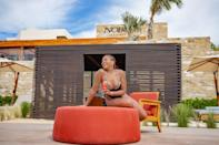 """<p><strong>Location: </strong>Los Cabos, Mexico</p> <p>Taraji P Henson took a break from the chilly Chicago weather and jetted off to Los Cabos, Mexico, for a getaway (with her then-fiance Kelvin Hayden) at the new <a href=""""https://loscabos.nobuhotels.com/"""" rel=""""nofollow noopener"""" target=""""_blank"""" data-ylk=""""slk:Nobu Hotel"""" class=""""link rapid-noclick-resp"""">Nobu Hotel</a>.</p> <p>When they weren't relaxing poolside, the <em>Empire</em> actress and the retired NFL player celebrated their love with a boat tour of the famous Cabo San Lucas Arch, where they dined on lobster, oysters and chocolate-covered strawberries.</p> <p>The hotel, which opened in 2019, has already welcomed a slew of celeb guests including Eva Longoria, Tracee Ellis Ross, and Julianne and Derek Hough, who vacationed there with their significant others.</p>"""