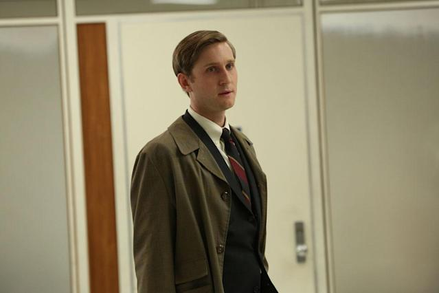 "Ken Cosgrove (Aaron Staton) in the ""Mad Men"" episode, ""To Have and to Hold."""