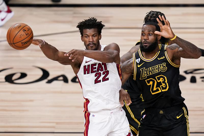 Jimmy Butler Plays Hero as Heat Win Epic Game 5 vs. LeBron James, Lakers