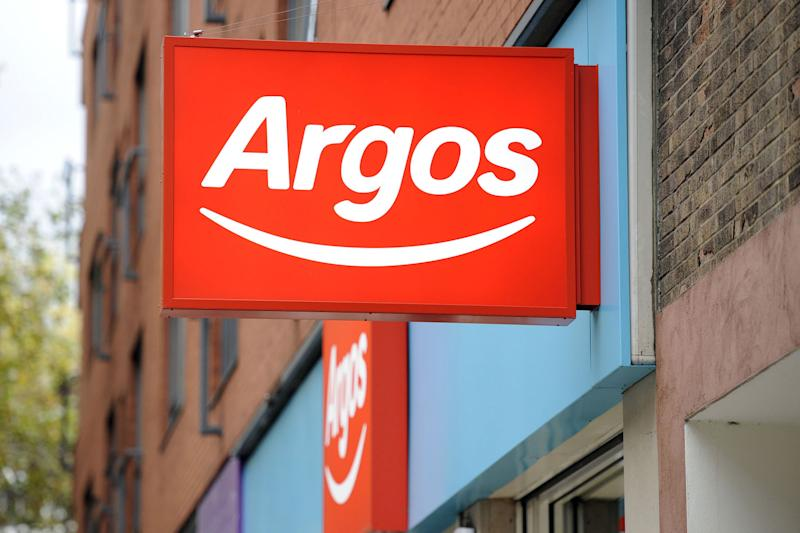 The Argos Black Friday sale begins on November 15: Jonathan Brady/PA Wire