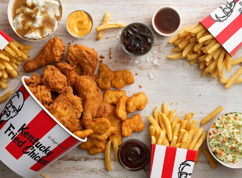 free KFC delivery