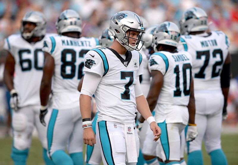 Panthers' Kyle Allen 'aloof to pressure.' Will that give him the edge for QB2?