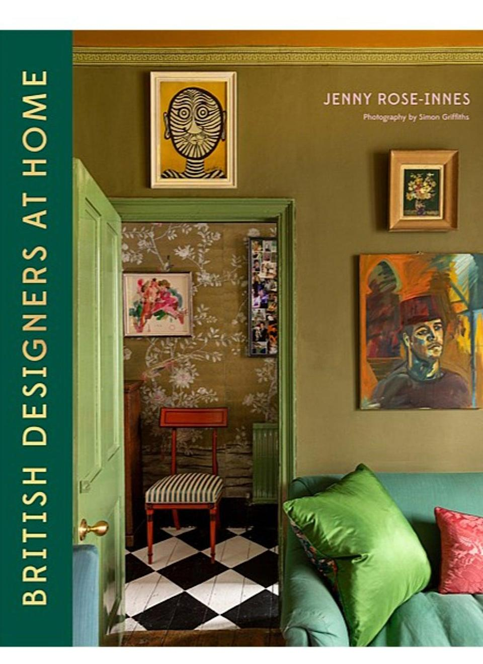 British Designers at Home by Jenny Rose-Innes, £20, Hardie Grant Books (Handout)