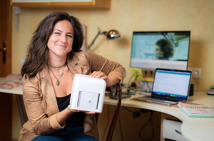 Judit Giró Benet and Her Breast-Cancer Detecting Blue Box