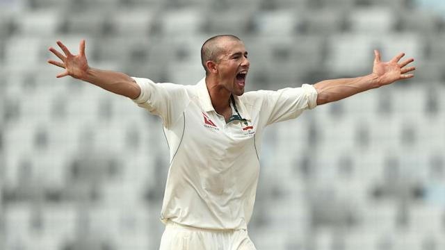After returning to the Australia Test side against Bangladesh, Ashton Agar's hopes of retaining his place for the Ashes have taken a hit.