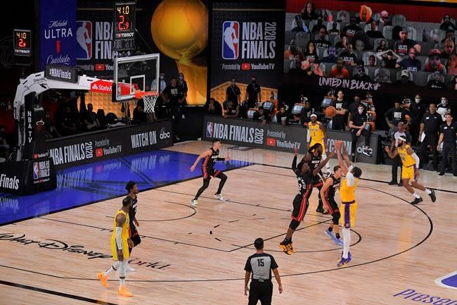 Lakers will look to close Heat out in Game 5 of NBA Finals