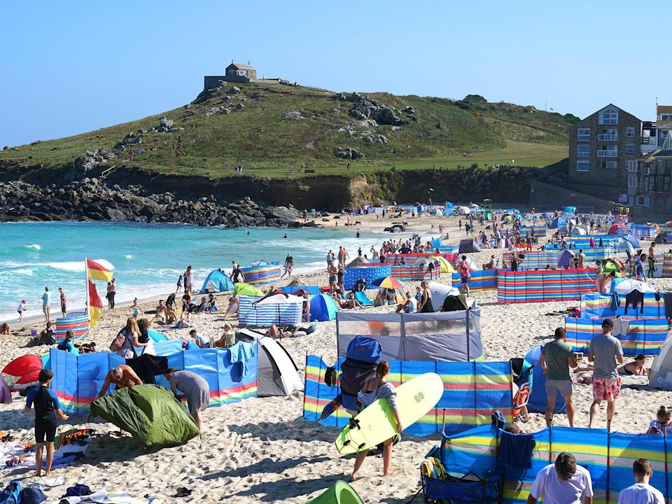 Bright month ahead for holidaymakers: temperatures set to stay above 20C all month (Getty)