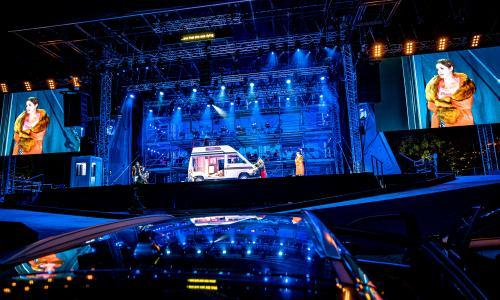 Orchestral manoeuvres in a car park: does drive-in opera hit the high notes?