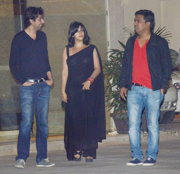 Ekta Kapoor arrives