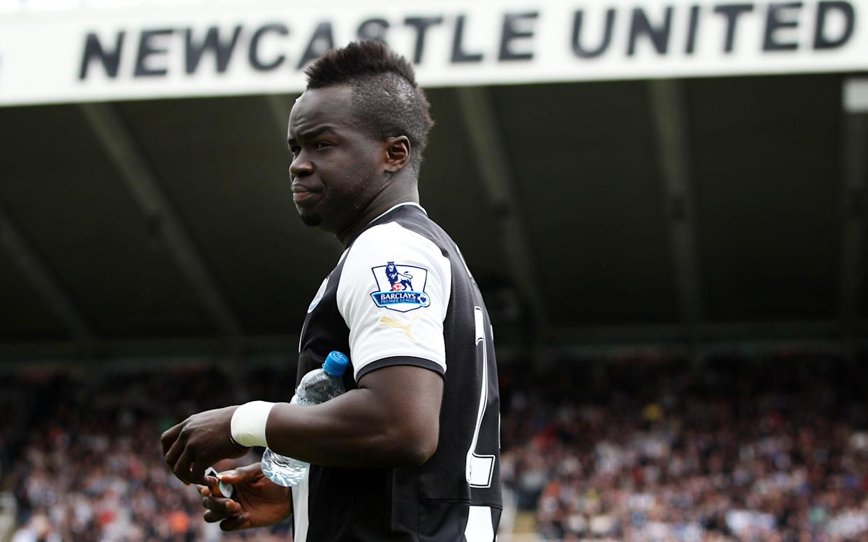<span>Tiote played under Pardew at Newcastle</span> <span>Credit: Action Images </span>