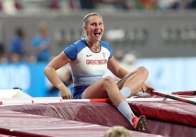 Holly Bradshaw is preparing to switch to Tokyo time ahead of the Games
