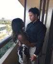 """<p>And then there's the pic that started it all, when the two publicly confirmed that they were a couple. Ervin looks a bit confused — he's obviously having too many feelings at once — in the snapshot that Biles captioned, """"always smiling with you."""" (Photo: <a rel=""""nofollow noopener"""" href=""""https://www.instagram.com/p/BYE0eEql2P_/?hl=en&taken-by=simonebiles"""" target=""""_blank"""" data-ylk=""""slk:Simone Biles via Instagram"""" class=""""link rapid-noclick-resp"""">Simone Biles via Instagram</a>) </p>"""