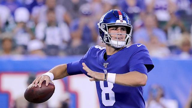 Daniel Jones will start for the New York Giants in Week 3 after Eli Manning was benched by head coach Pat Shurmur.