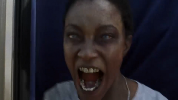 Zombie Sasha! (played by Sonequa Martin-Green)