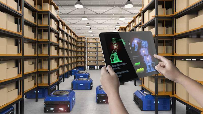 Robots being delployed to pick-and-pack in a warehouse