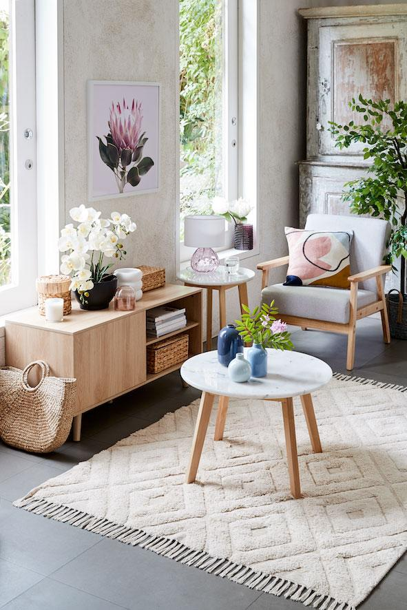 kmart coffee table and chair