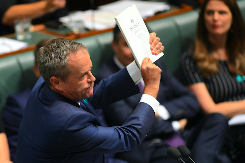 Turnbull unleashed on Labor leader Bill Shorten in response to claims he was attacking families, standards of living and being too tough on pensioners and soft on banks. Photo: AAP.