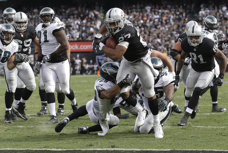 Injured McFadden to miss Raiders' game in New York
