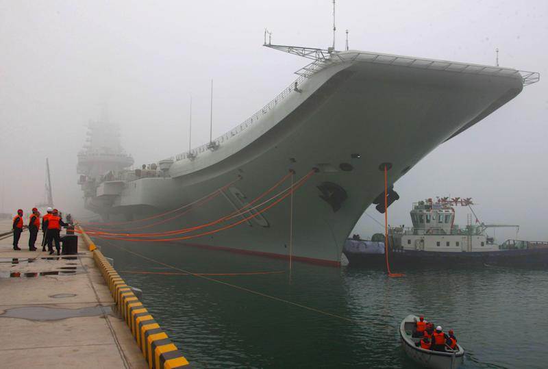Reports: China carrier permanent base is Qingdao