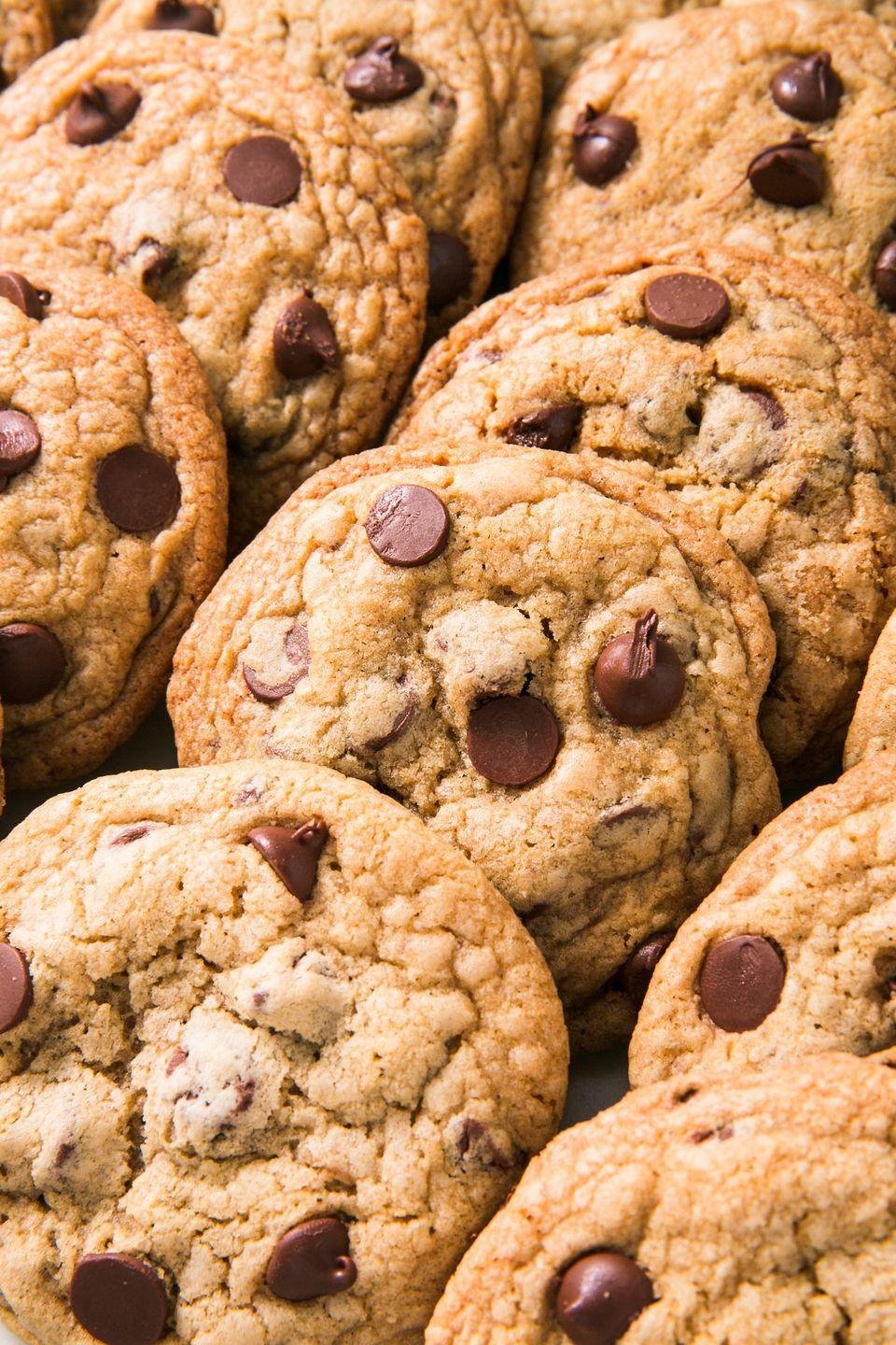 """<p>Beware: These cookies will go quickly. Our advice? Make a double batch.</p><p>Get the recipe from <a href=""""https://www.delish.com/cooking/a25487454/mrs-fields-cookies-recipe/"""" rel=""""nofollow noopener"""" target=""""_blank"""" data-ylk=""""slk:Delish"""" class=""""link rapid-noclick-resp"""">Delish</a>. </p>"""