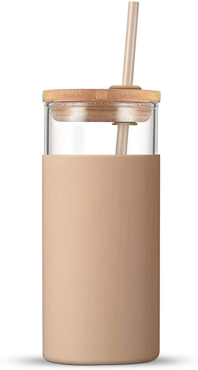 <p>The <span>Tronco 20oz Glass Tumbler with Straw </span> ($16) comes in so many gorgeous colors and patterns, you'll be drinking iced-lattes and staying hydrated in style!</p>