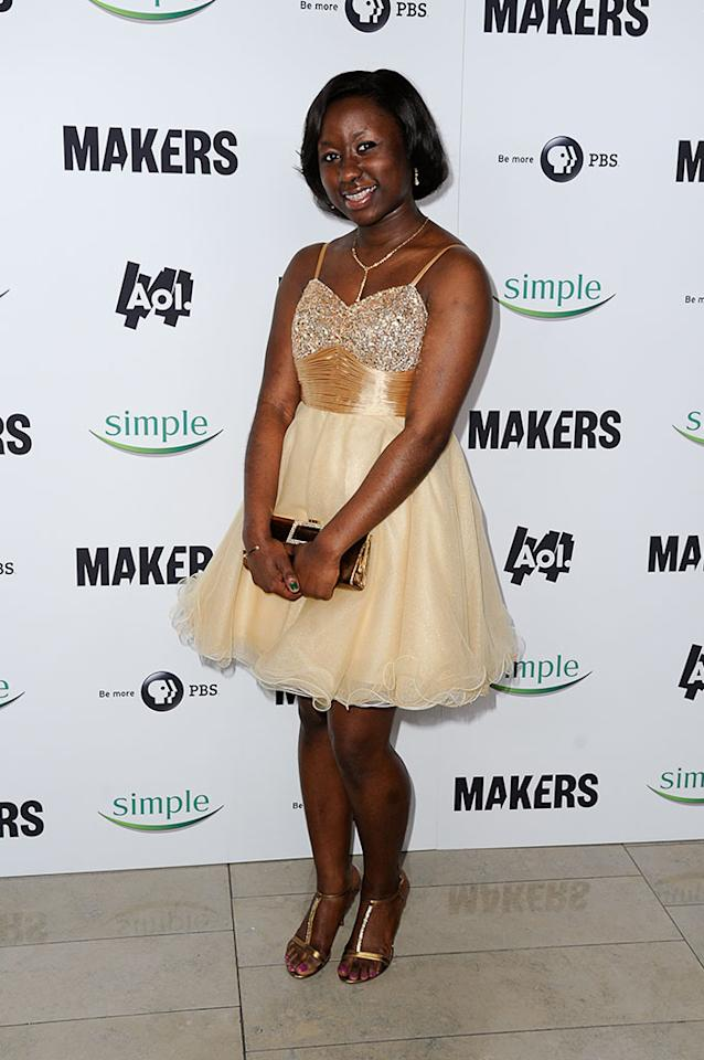 "Olivia Stinson arrives at ""MAKERS: Women Who Make America"" New York Premiere at Alice Tully Hall on February 6, 2013 in New York City."