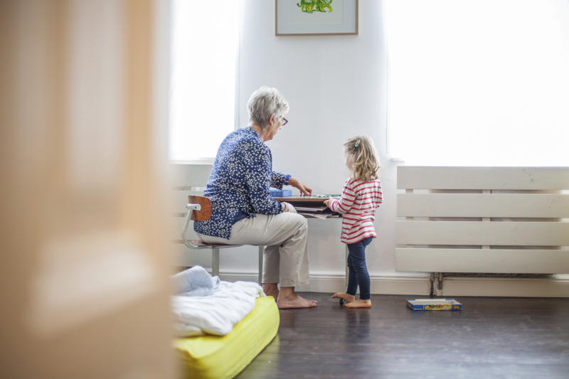 Should grandparents be paid for the childcare they provide? [Photo: Getty]