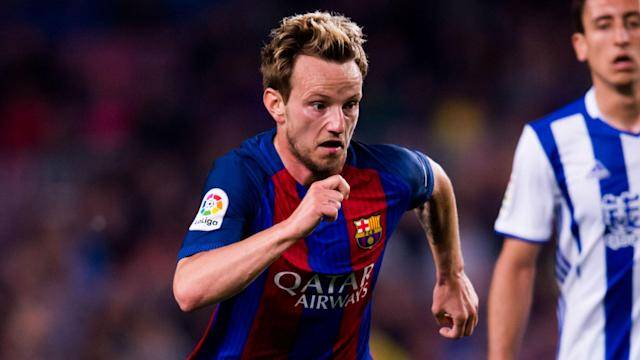Barcelona are still confident of progressing to the semi-finals of the Champions League, according to Ivan Rakitic.