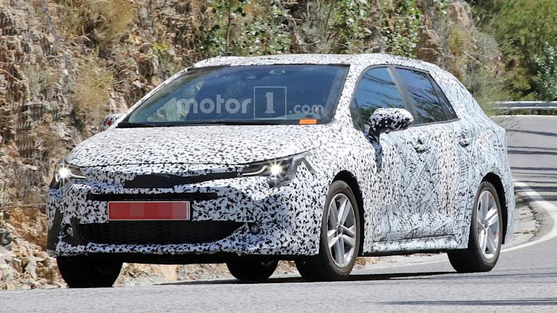 2019 Toyota Auris Touring Sports Estate Spied Hot Weather Testing