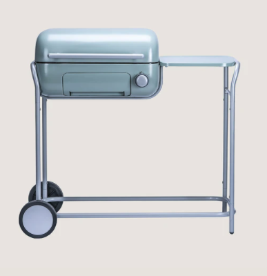 """<p><strong>Spark One </strong></p><p>sparkgrills.com</p><p><strong>$899.00</strong></p><p><a href=""""https://www.sparkgrills.com/products/spark-one?variant=32690419335219"""" rel=""""nofollow noopener"""" target=""""_blank"""" data-ylk=""""slk:Shop Now"""" class=""""link rapid-noclick-resp"""">Shop Now</a></p><p>You heard that right—it uses charcoal <em>and</em> it's electric! Get that yummy smoky flavor minus the mess, and it plugs right into a three-prong outlet.</p>"""