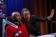 """<p>In <strong>Holiday Rush</strong>, NYC-based radio DJ and widow Rush Williams loses his job right around Christmas, but his producer Roxy Richardson and Aunt Jo come up with a plan to help him.</p> <p>Watch <strong> <a href=""""http://www.netflix.com/title/81033086"""" class=""""link rapid-noclick-resp"""" rel=""""nofollow noopener"""" target=""""_blank"""" data-ylk=""""slk:Holiday Rush"""">Holiday Rush</a> </strong> on Netflix now.</p>"""