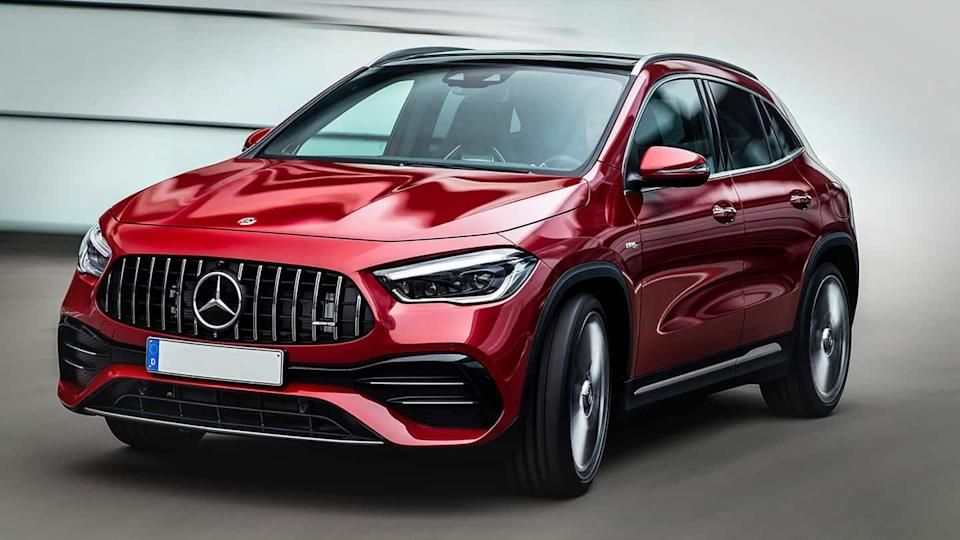 Mercedes-AMG GLA 35 4MATIC SUV to be launched by April-end