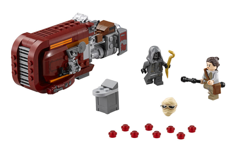 <p>You can hover into the action with this Lego model. Other new sets include a First Order snowspeeder, a First Order special forces TIE fighter, and a First Order troop transport. </p>