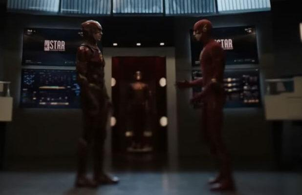Watch Ezra Miller's The Flash Meet Grant Gustin's The Flash on The CW's 'Crisis on Infinite Earths' (Video)