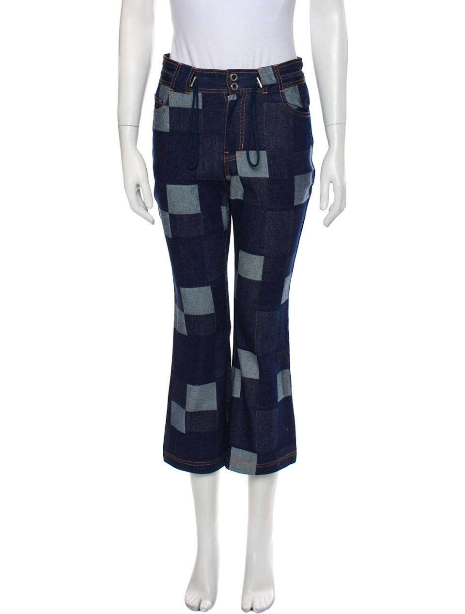 <p>Never forget to check out The RealReal for exciting buys, like these <span>Opening Ceremony Mid-Rise Straight Leg Jeans</span> ($55), which come new with tags and elastic pulls at the waist.</p>