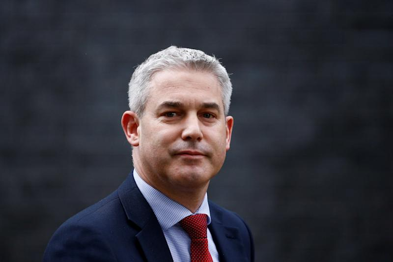 Brexit secretary Stephen Barclay was among the Tory MPs which voted against May's plans to delay Brexit