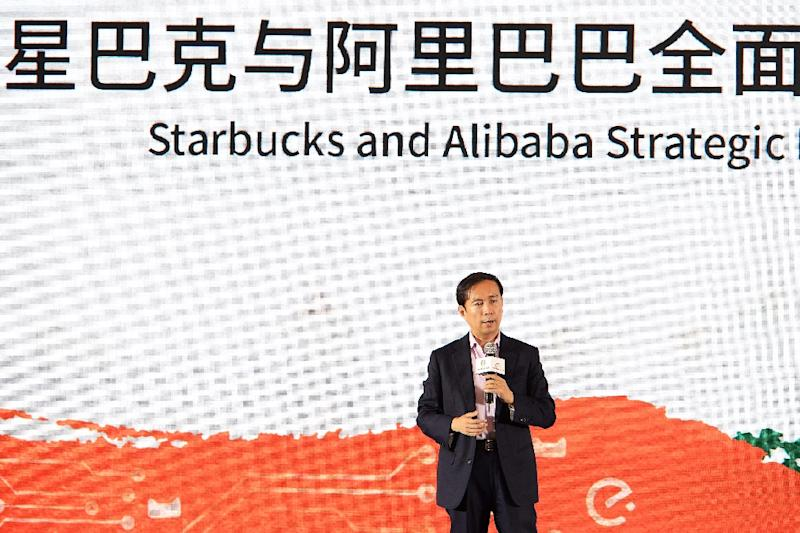 Alibaba's CEO and anointed successor Daniel Zhang is less magnetic than his predecessor but has proven an able steward since effectively taking the operational reins years ago (AFP Photo/-)