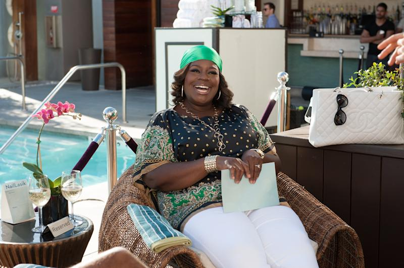 "PARKS AND RECREATION -- ""Save JJ's"" Episode 707 -- Pictured: Retta as Donna Meagle -- (Photo by: Colleen Hayes/NBCU Photo Bank/NBCUniversal via Getty Images via Getty Images)"