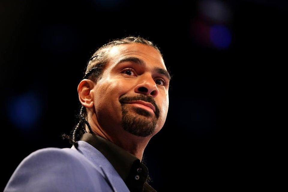 David Haye returned to the ring in an exhibition last weekend (Steven Paston/PA) (PA Archive)