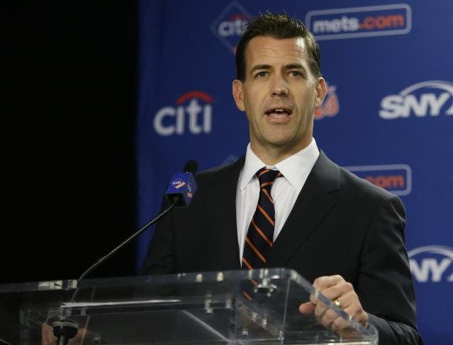 Brodie Van Wagenen feels like the Mets are already the class of the NL East. (AP Photo/Frank Franklin II)