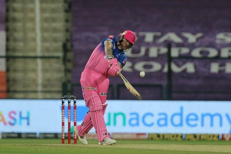 Ben Stokes contributed in all three facets of the game for RR. [PC: iplt20.com]
