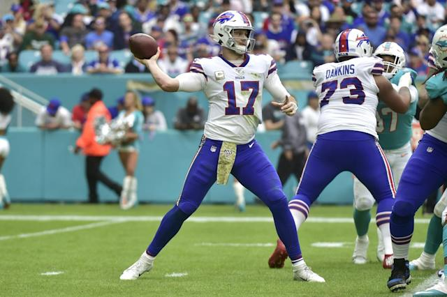 Brian Daboll moves upstairs, Bills' offense responds in a big way