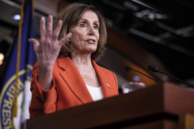 Pelosi Rules Out Censuring Trump, Saying That's 'Just a Way Out'